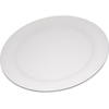 "Carlisle Durus® Melamine Dinner Plate Narrow Rim 10.5"" - Bone CFS 4300242CS"