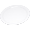 "Carlisle Durus® Melamine Narrow Rim Dinner Plate 9"" - White CFS 4300402CS"