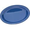 "Carlisle Durus® Melamine Narrow Rim Dinner Plate 9"" - Ocean Blue CFS 4300414CS"