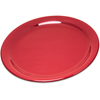 "Carlisle Durus® Melamine Narrow Rim Dinner Plate 9"" - Roma Red CFS 4300458CS"