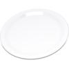 """Carlisle Durus® Melamine Salad Plate Narrow Rim 7.25"""" - White CFS 4300602CS"""