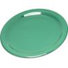 "Plates Salad Plates: Carlisle - Durus® Melamine Salad Plate Narrow Rim 7.25"" - Green"