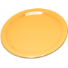 "Carlisle Durus® Melamine Salad Plate Narrow Rim 7.25"" - Honey Yellow CFS 4300622CS"