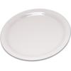 """Carlisle Durus® Melamine Salad Plate Narrow Rim 7.25"""" - Bone CFS 4300642CS"""