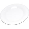 "Plates Salad Plates: Carlisle - Durus® Melamine Salad Plate Wide Rim 7.5"" - White"