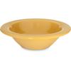 Carlisle Durus® Melamine Rimmed Fruit Bowl 4.5 oz - Honey Yellow CFS 4304222CS