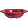 Carlisle Durus® Melamine Rimmed Fruit Bowl 4.5 oz - Roma Red CFS 4304258CS