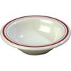 Carlisle Mosaic Durus® Melamine Rimmed Fruit Bowl 4.5 oz - Morocco on Bone CFS 43043903CS