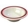 Carlisle Mosaic Durus® Melamine Rimmed Fruit Bowl 4.5 oz - Roma on Bone CFS 43043907CS