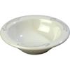 Carlisle Mosaic Durus® Melamine Rimmed Fruit Bowl 4.5 oz - Versailles on Bone CFS 43043909CS