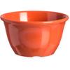 Carlisle Durus® Melamine Bouillon Cup 7 oz - Sunset Orange CFS 4305052CS