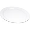 "Durus® Melamine Oval Platter Tray 13.5"" x 10.5"" - White"