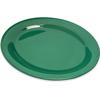 "Durus® Melamine Oval Platter Tray 12"" x 9"" - Green"
