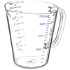 Carlisle Commercial  Measuring Cup 1 qt - Purple CFS 43143AF07CS