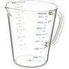 Carlisle Commercial  Measuring Cup 1/2 gal - Clear CFS 4314407CS