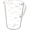 Carlisle Commercial  Measuring Cup 1 gal - Clear CFS 4314507CS
