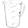 Carlisle Commercial  Measuring Cup 1 gal - Purple CFS 43145AF07CS