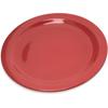 "Plates Salad Plates: Carlisle - Dallas Ware® Melamine Salad Plate 7.25"" - Red"