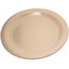 "Plates Salad Plates: Carlisle - Dallas Ware® Melamine Salad Plate 7.25"" - Tan"