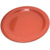 """Plates Salad Plates: Carlisle - Dallas Ware® Melamine Salad Plate 7.25"""" - Sunset Orange"""