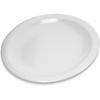 """Carlisle Dallas Ware® Melamine Bread  Butter Plate 5.5"""" - White CFS 4350502CS"""