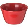 Carlisle Dallas Ware® Melamine Bouillon Cup Bowl 8 oz - Red CFS 4354005CS