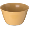 Carlisle Dallas Ware® Melamine Bouillon Cup Bowl 8 oz - Honey Yellow CFS 4354022CS