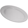 "Carlisle Dallas Ware® Melamine Oval Platter Tray 12"" x 8.5"" - White CFS 4356002CS"