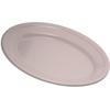 "Carlisle Dallas Ware® Melamine Oval Platter Tray 9.25"" x 6.25"" - Bone CFS 4356342CS"