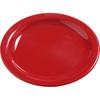"Plates Salad Plates: Carlisle - Dayton Melamine Salad Plate 7.25"" - Red"