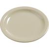 """Plates Salad Plates: Carlisle - Dayton Melamine Salad Plate 7.25"""" - Oatmeal"""