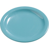 """Plates Salad Plates: Carlisle - Dayton Melamine Salad Plate 7.25"""" - Turquoise"""