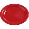 "Carlisle Dayton Melamine Bread  Butter Plate 5.5"" - Red CFS 4385605CS"