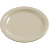 "Carlisle Dayton Melamine Bread  Butter Plate 5.5"" - Oatmeal CFS 4385606CS"