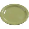 """Carlisle Dayton Melamine Bread  Butter Plate 5.5"""" - Wasabi CFS 4385682CS"""