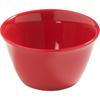 Carlisle Dayton Melamine Bouillon Cup Bowl 8 oz - Red CFS 4386805CS