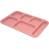 Carlisle Right-Hand Heavy Weight Compartment Tray - Variegated - Rose Granite CFS 4398900CS