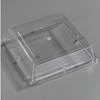"Carlisle Designer Displayware Cover For 12"" Wr Square Plate - Clear CFS 44400C07CS"