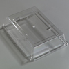 "Carlisle Designer Displayware Cover For 14"" X 10"" Wr Rectangle Platter - Clear CFS 44414C07CS"
