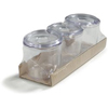 Carlisle Condiment Jars with Lids CFS 4574-807