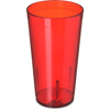 Carlisle Stackable PC Tumbler 16.5 oz - Ruby CFS 5116-210CS