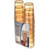 Carlisle Stackable SAN Tumbler 12 oz (12/pk) - Amber CFS 5212-8213CS