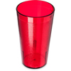 Carlisle Stackable SAN Plastic Tumbler 12 oz - Ruby CFS 521210CS