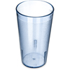 Carlisle Stackable SAN Plastic Tumbler 12 oz - Blue CFS 521254CS