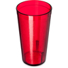Carlisle Stackable Cash 'n Carry SAN Tumbler 16 oz - Cash  Carry (12/st) - Ruby CFS 5216-810CS