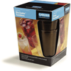 Carlisle Stackable Cash 'n Carry SAN Tumbler 16 oz (12/st) - Amber CFS 5216-813CS