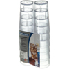 Carlisle Stackable Cash 'n Carry SAN Tumbler 16 oz (12/pk) - Clear CFS 5216-8207CS