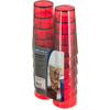 Carlisle Stackable Cash 'n Carry SAN Tumbler 16 oz (12/pk) - Ruby CFS 5216-8210CS