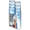 Carlisle Stackable Cash 'n Carry SAN Tumbler 16 oz (12/pk) - Blue CFS 5216-8254CS