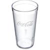 Carlisle Coca-Cola® Stackable™ SAN Tumbler CFS 52163550E